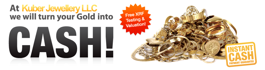 At Ekta Jewellery LLC we will turn your Gold into Cash! Free XRF Testing & Valuation! Instant Cash Payment Guarantee